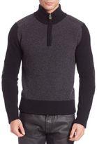 Belstaff Wool Rib Eyston Sweater