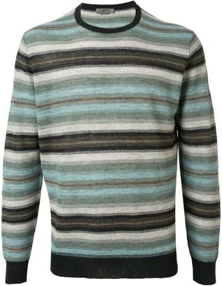 Corneliani Striped Knit Jumper