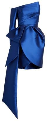 Azzi & Osta Asymmetric Tulip Dress