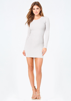 Bebe Angelica Back Lace Up Dress