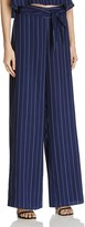 Aqua Stripe Tie Waist Wide Leg Pants - 100% Exclusive