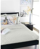 Inhabit Spa in Mist Quilted Coverlet