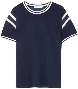 alexanderwang.t Striped Stretch-jersey T-shirt