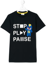 Fendi printed slogan T-shirt