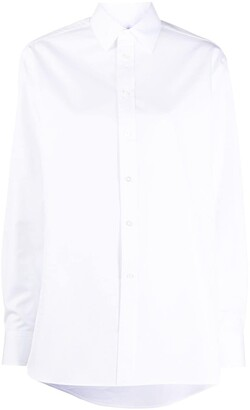 Ralph Lauren Collection Oversized Long-Sleeve Shirt