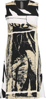 Norma Kamali Printed neoprene dress