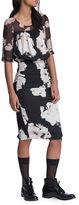 Tracy Reese Roundneck Blouson Dress