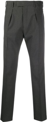 Pt01 Undici slim-fit wool trousers