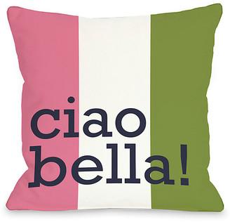 Ciao Bella One Bella Casa Decorative Pillow