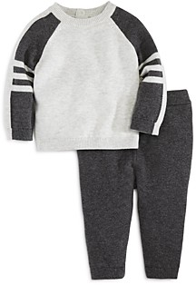 Bloomie's Boys' Raglan Sweater & Knit Pants Set, Baby - 100% Exclusive