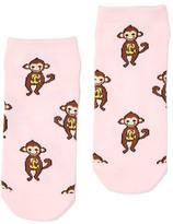 Dotti Cheeky Monkey Ankle Sock