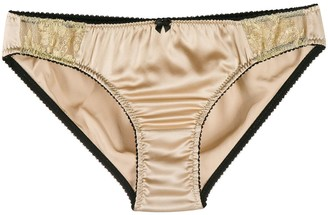 Gilda & Pearl Lace Panel Knickers