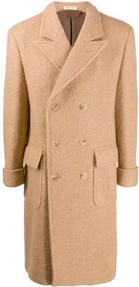 Marni long double-breasted coat