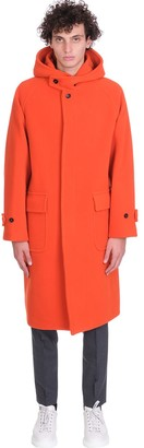 MACKINTOSH Brecoch Coat In Red Wool