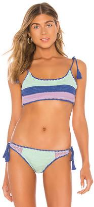 Seafolly Summer Chintz Crochet Bikini Top