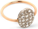Annina Vogel 9ct rose-gold and rose-cut diamond disc cluster ring