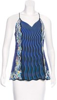 Mary Katrantzou Printed Sleeveless Top w/ Tags