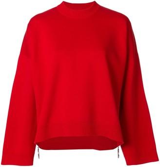 Paco Rabanne Oversized Zipped Sweater