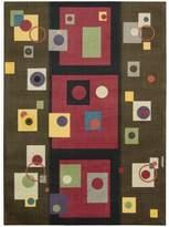 Nourison MDR05-099446115478 Modern Art (MDR05) Chestnut Rectangle Area Rug
