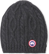 Canada Goose Cable-knit merino wool beanie