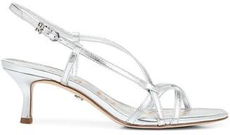 Sam Edelman Judy Metallic Leather Slingback Sandals