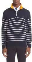 Paul & Shark Men's Quarter Zip Sweater