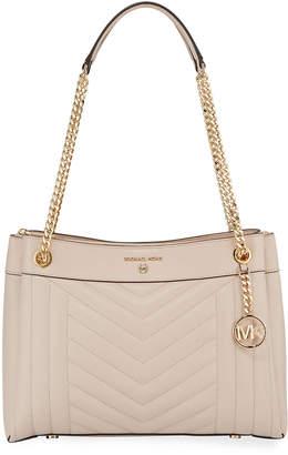 MICHAEL Michael Kors Susan Medium Leather Shoulder Bag