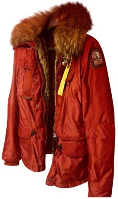 Parajumpers Red Synthetic Coats
