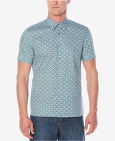 Perry Ellis Men's Micro-Floral Stretch Shirt
