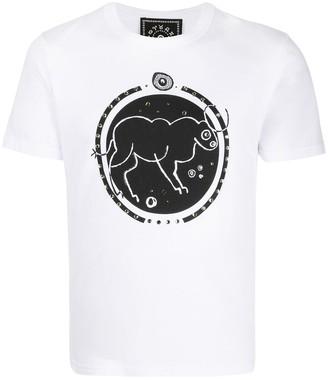 10 Corso Como Taurus print T-shirt