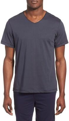 Daniel Buchler Peruvian Pima Cotton V-Neck T-Shirt