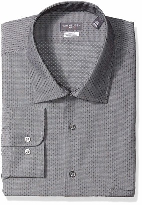Van Heusen Men's Size FIT Dress Shirt Flex Collar Check (Big and Tall)