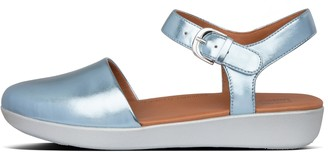 FitFlop Cova Metallic Closed-Toe Sandals