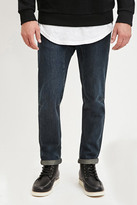 Forever 21 FOREVER 21+ Paneled-Inseam Slim Fit Jeans
