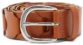 Isabel Marant Zak Braided-leather Belt - Tan