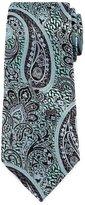 Ermenegildo Zegna Paisley Silk Jacquard Tie, Blue