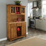 Large Buffet Server with Hutch - Cottage Oak