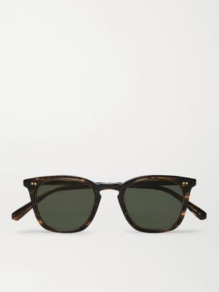 Mr. Leight Getty S Square-Frame Tortoiseshell Acetate Sunglasses