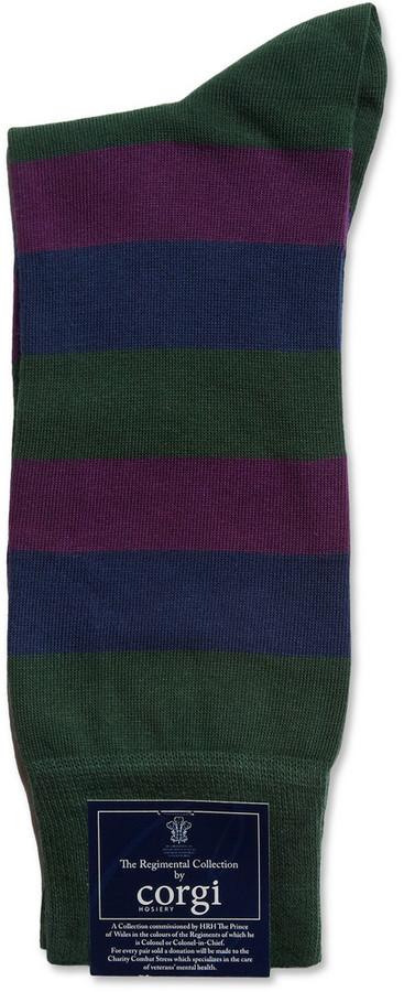 Corgi Royal Regiment of Scotland Cotton-Blend Socks