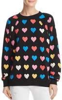 Wildfox Couture Heart Print Sweatshirt