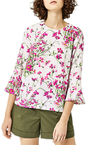 Warehouse Full Bloom Top, Pink