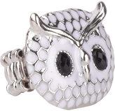 Delia's Owl Epoxy Stretch Ring