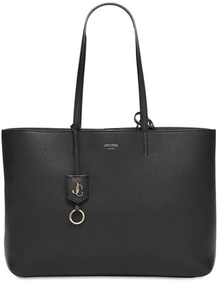 Jimmy Choo Nine 2 Five Leather Tote Bag