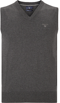 Gant Lightweight Cotton Tank Top, Charcoal