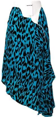 Each X Other leopard print asymmetric skirt