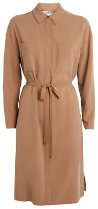 Max Mara Silk Shirt Dress