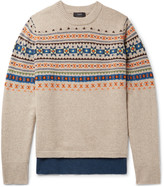 Joseph - Fair Isle Wool Sweater