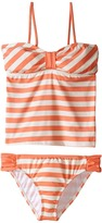Ella Moss Cabana Bandini Top and Tab Side Bottoms Girl's Swimwear Sets