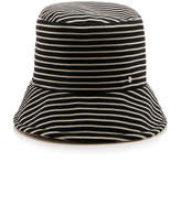 Maison Michel Matthew Matey Stripes Reversible Hat
