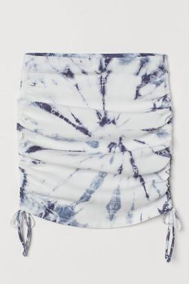 H&M Drawstring-detail skirt